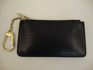 Louis Vuitton Black Epi Key Pouch