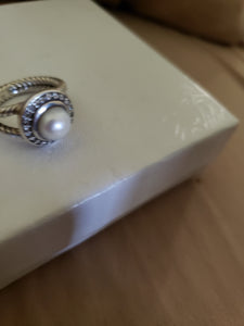 David Yurman Pearl Cerise ring