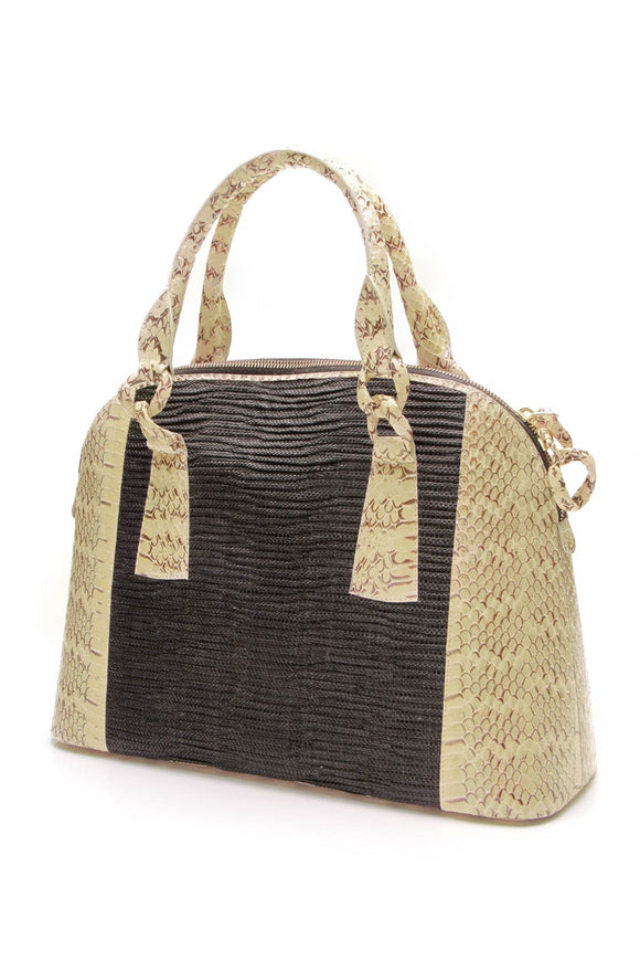 nancy-gonzalez-snakeskin-straw-satchel-bag-black
