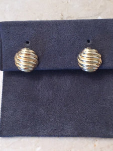 David Yurman Sculpted Stud earrings