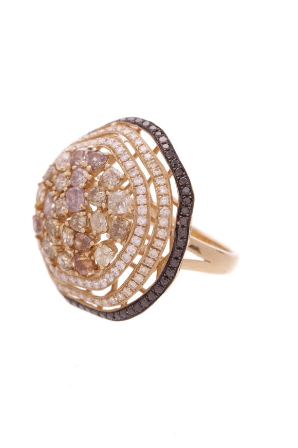 18k-yellow-gold-pave-fancy-diamond-round-cocktail-ring