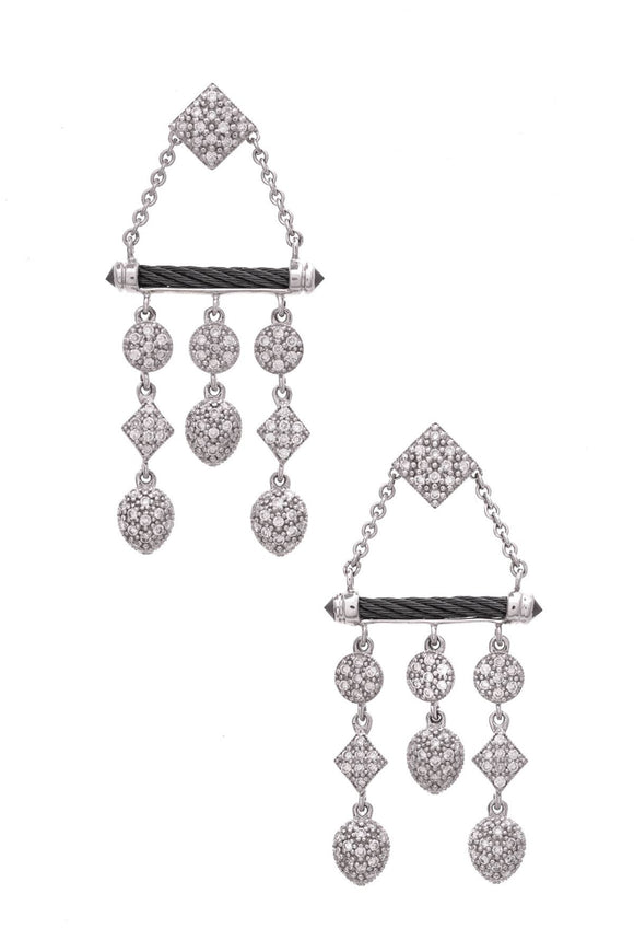 charriol-celtic-noir-diamond-earrings