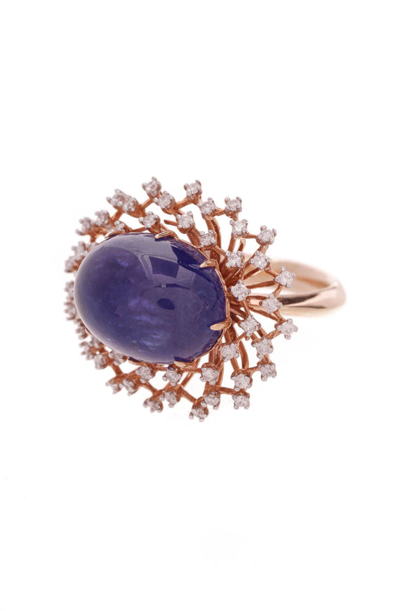 18k-rose-gold-tanzanite-diamond-cocktail-ring