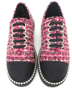 Chanel Tweed Sneakers