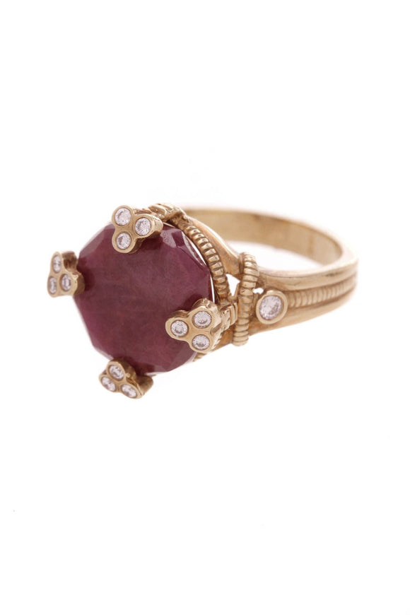 judith-ripka-ruby-diamond-ring-18k-gold