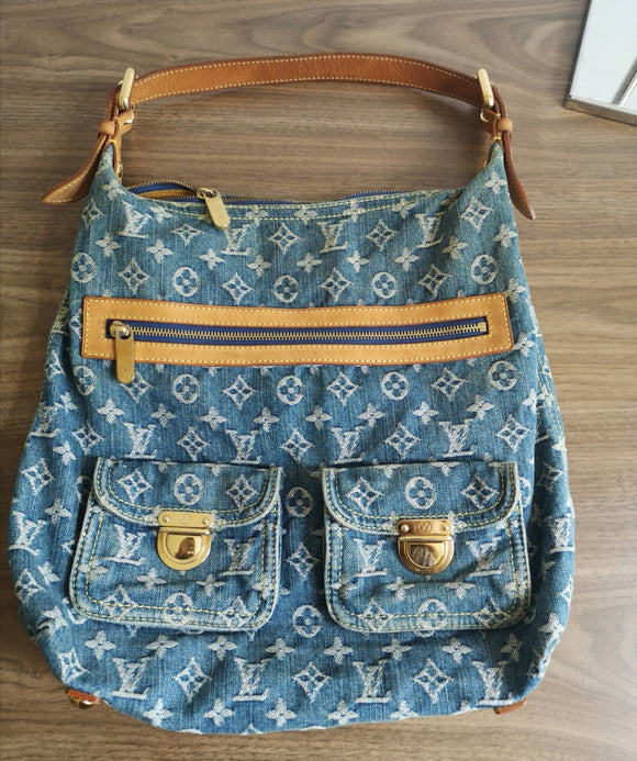 Louis Vuitton Denim Baggy GM bag
