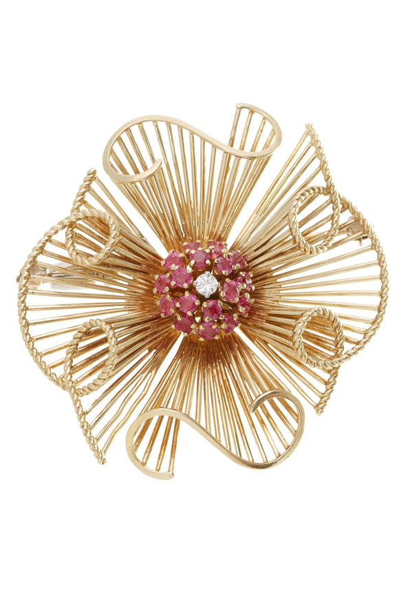 18k-yellow-gold-ruby-diamond-pinwheel-broochpin