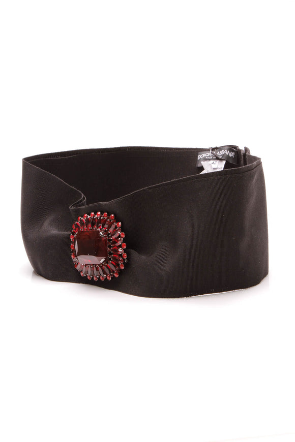 dolce-gabbana-red-crystal-black-grosgrain-belt