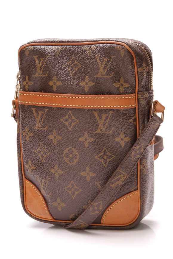 Louis Vuitton Danube Messenger Bag Monogram Brown