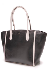 Kate Spade Forster Caroline Lane Tote Bag Black White