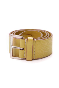 Prada Leather Belt Yellow