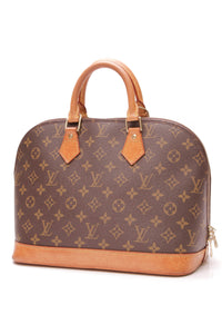 Louis Vuitton Alma PM Bag Monogram Canvas