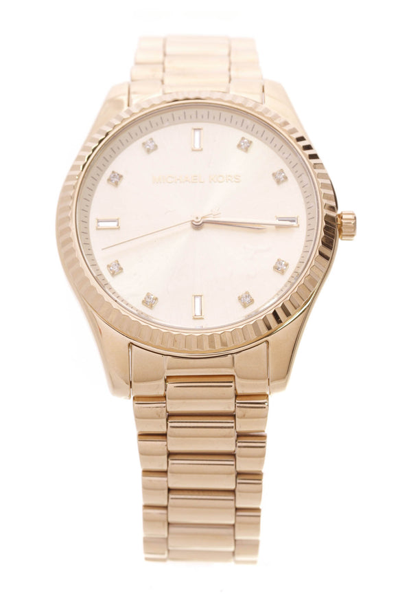 Michael Kors Blake watch yellow gold