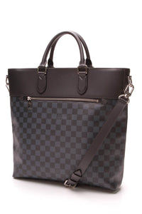 Louis Vuitton Newport Tote Bag Damier Cobalt
