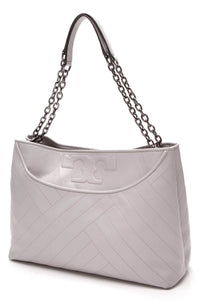 Tory Burch Slouchy Alexa tote bag grey