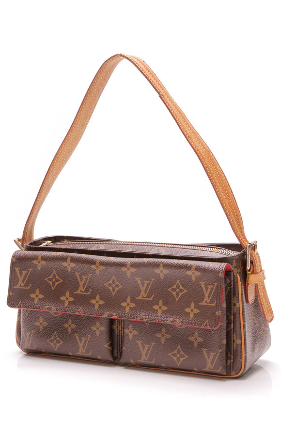 Louis Vuitton Viva Cite MM Bag Monogram Canvas Brown