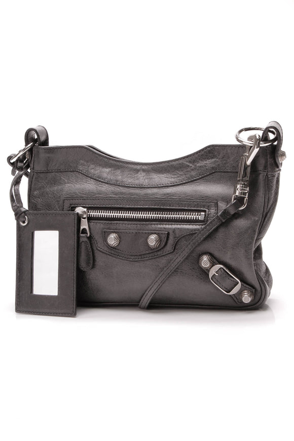 Balenciaga Hip bag black leather