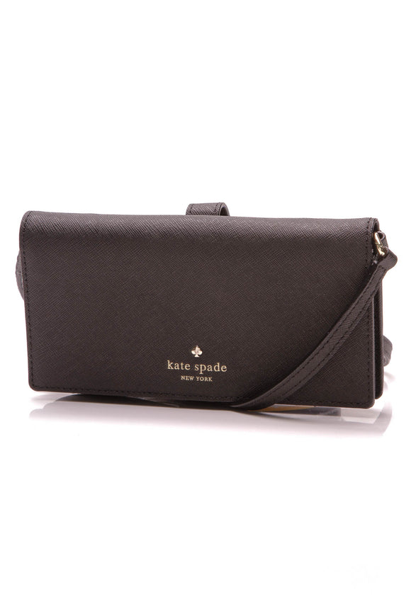 Kate Spade iPhone 6 crossbody case black