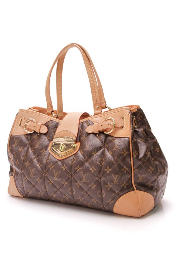 Louis Vuitton Etolie Shopper Bag Monogram Brown