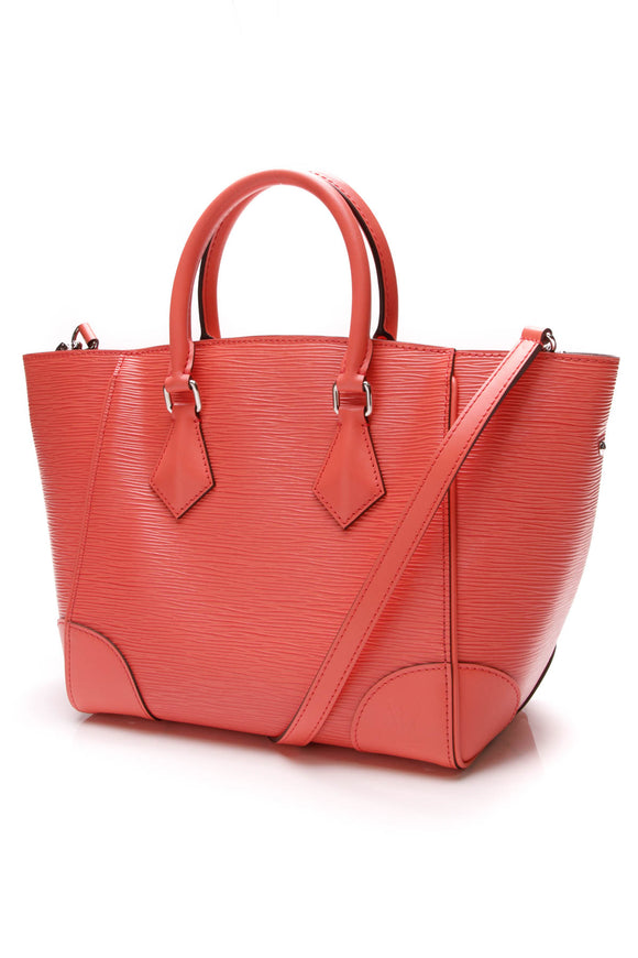 Louis Vuitton Phenix PM Bag Poppy Epi Leather Orange