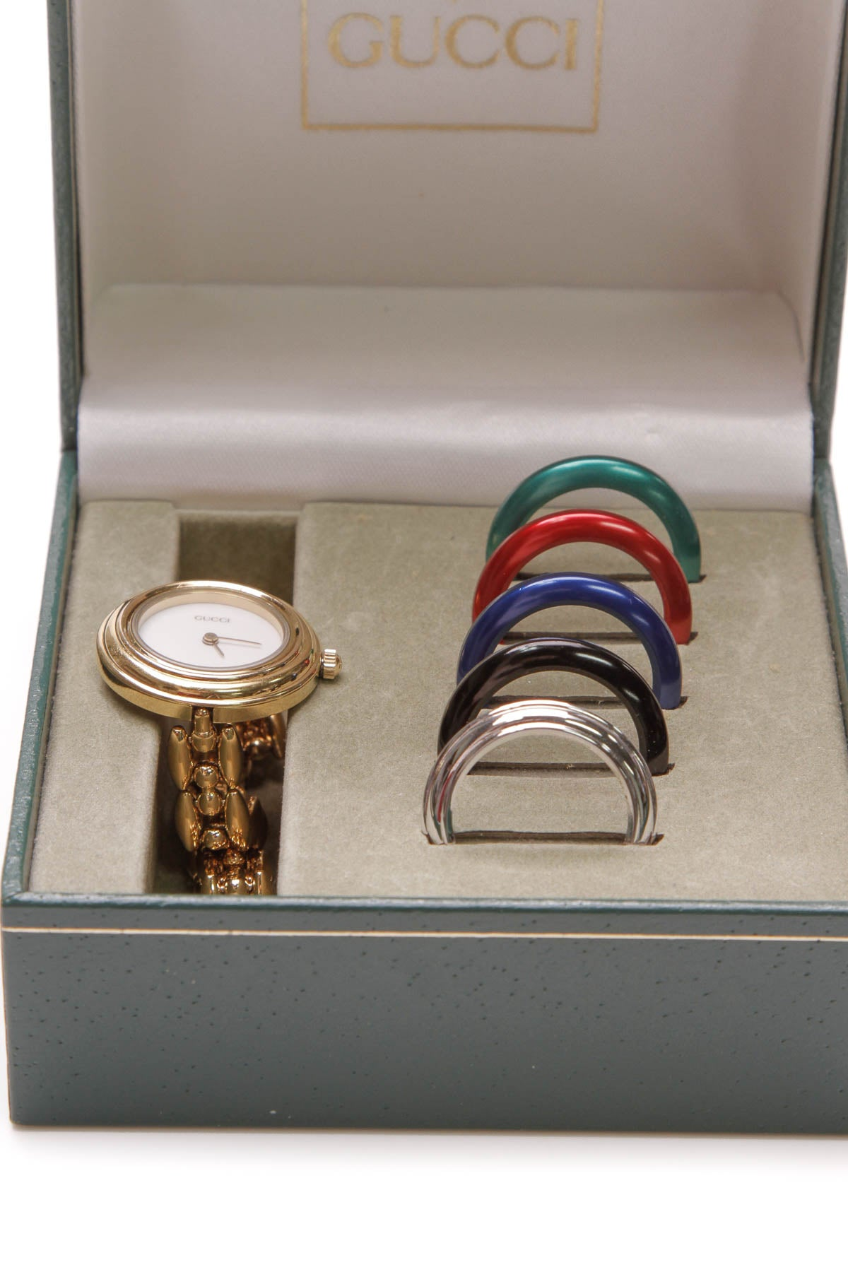 55ee9f9ec49 Vintage Interchangeable Bezel Watch - Gold – Couture USA