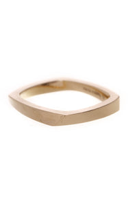 Tiffany & Co. Frank Gehry Torque Ring Gold Size 5