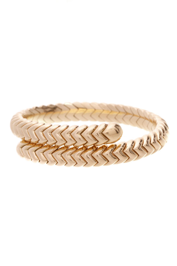 Bvlgari Serpenti Tubogas bracelet 18K yellow gold