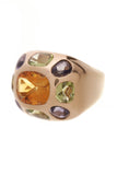 Chanel Coco Baroque Ring Gold Size 5