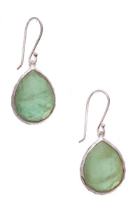 Ippolita Rock Candy Earrings Silver Green
