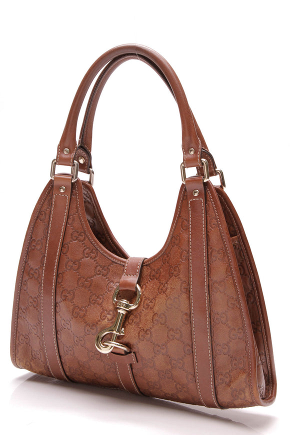Gucci Joy Small Shoulder Bag Brown Guccissima