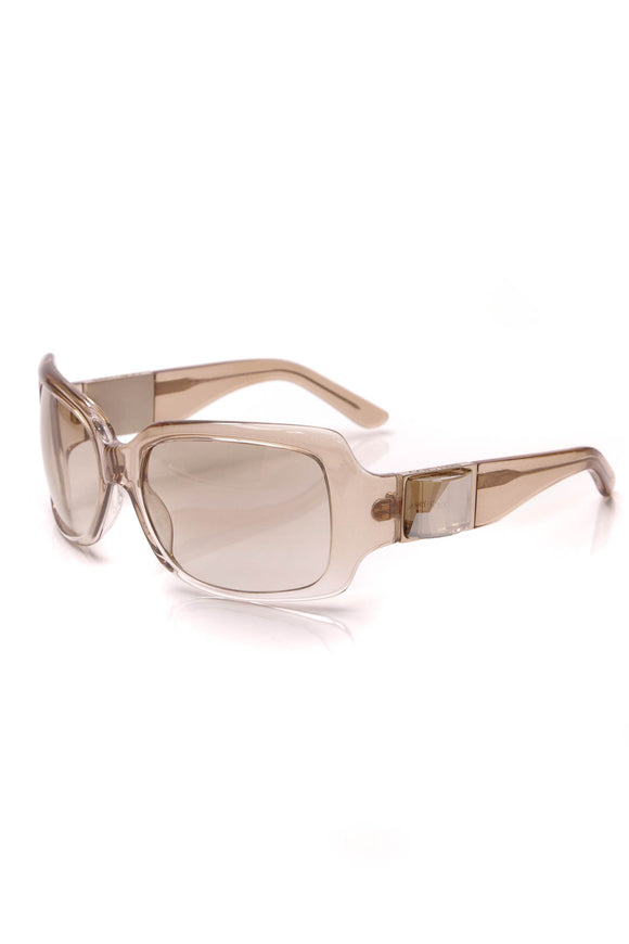Jimmy Choo Tinted Rock clear sunglasses