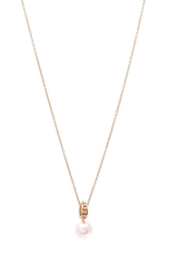 Iridesse Necklace Pearl Gold