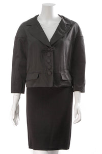 Louis Vuitton Bow Button Jacket Black Size 42
