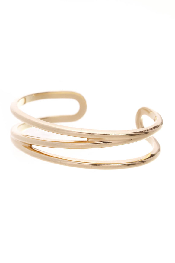 Tiffany & Co. Zig Zag Cuff Bracelet 18K Gold