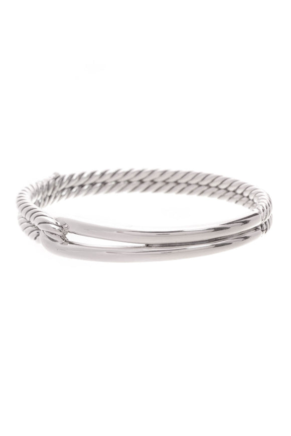 David Yurman Labyrinth Single Loop Bracelet Silver