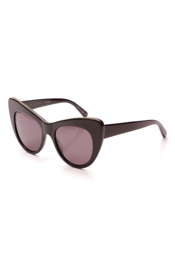 Stella McCartney Cat Eye Sunglasses Black