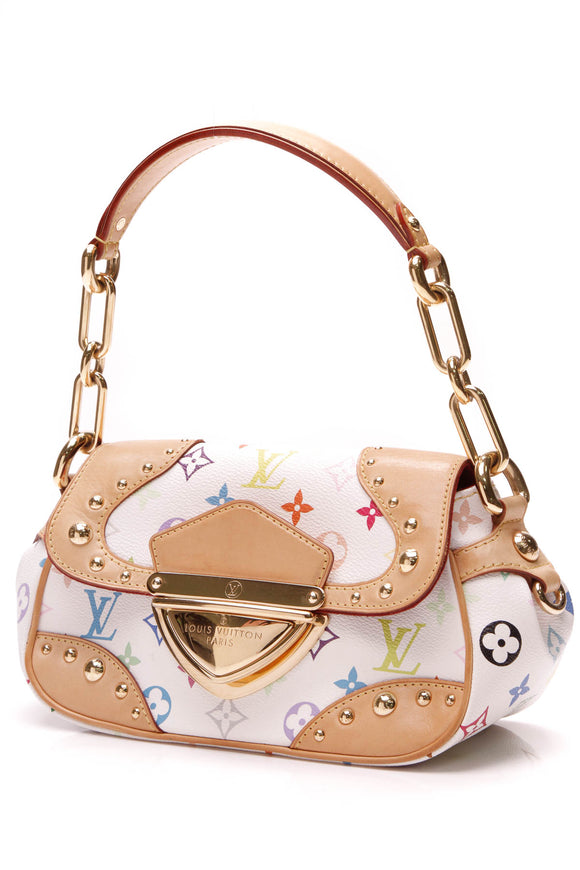 Louis Vuitton Marilyn Bag White Multicolore Monogram