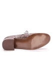 Stuart Weitzman Embossed Shoes Brown Leather Size 10