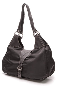 Prada Buckle Shoulder Bag Nylon