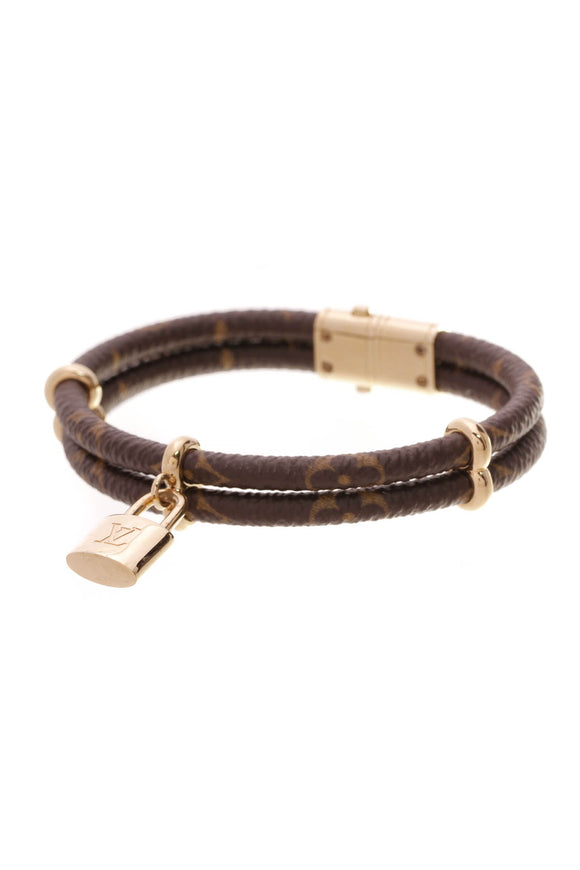 Louis Vuitton Keep It Twice Bracelet Monogram