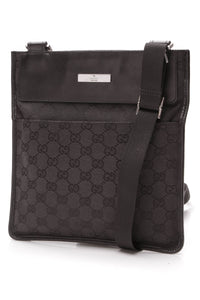 Gucci Crossbody Bag Black Signature GG Canvas