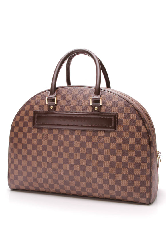Louis Vuitton Nolita 24 Heures Travel Bag Damier Ebene
