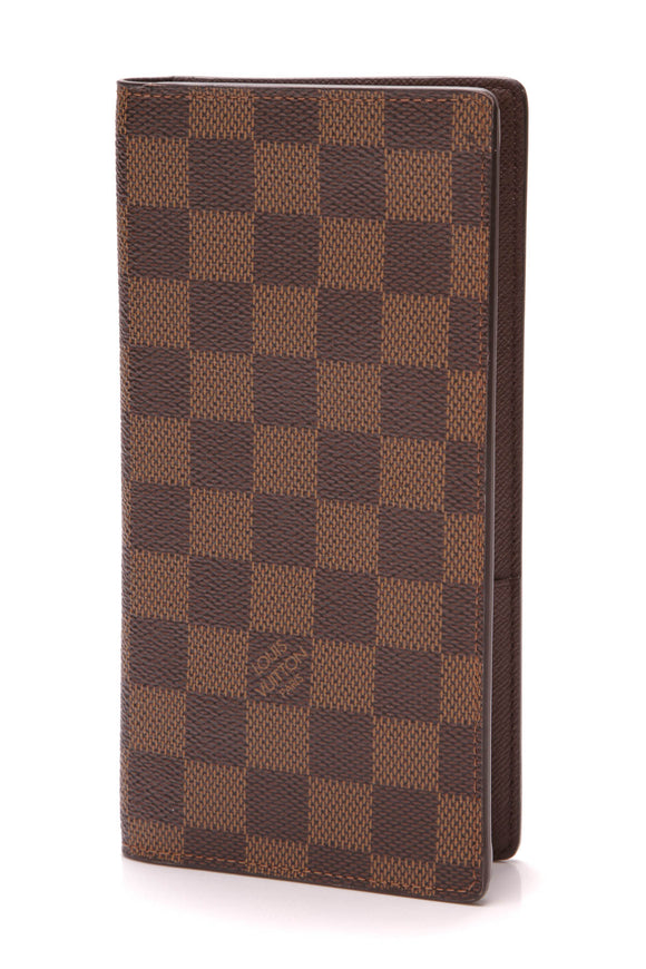 Louis Vuitton Brazza Wallet Damier Ebene