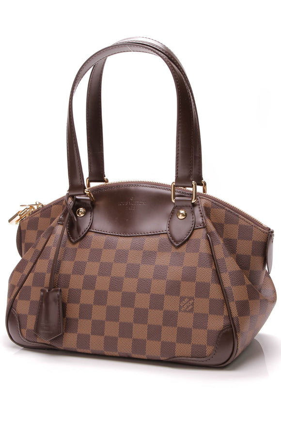 Louis Vuitton Verona PM Bag Damier Ebene Brown
