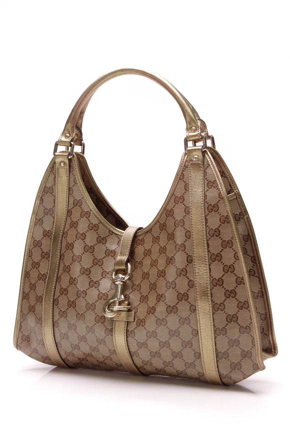 Gucci Joy Medium Shoulder Bag Crystal Canvas