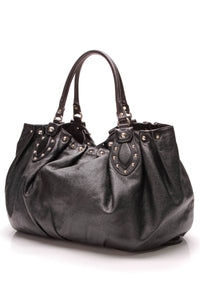 Gucci Studded Pelham Tote Bag Black