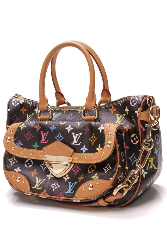 Louis Vuitton Rita Bag Black Multicolore Monogram