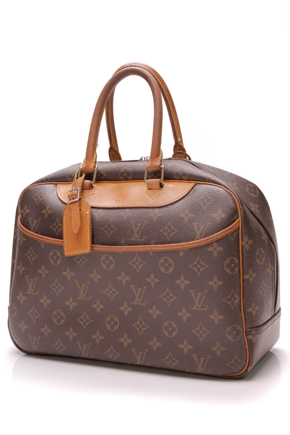 Louis Vuitton Deauville Bag Monogram Canvas