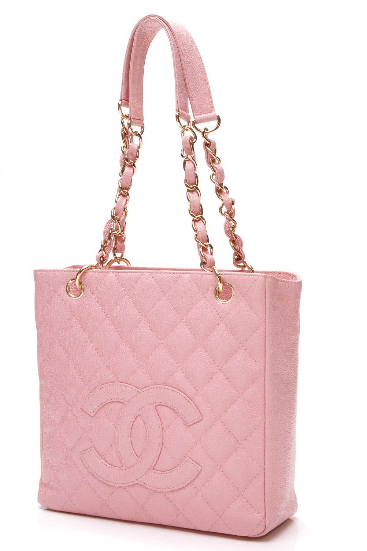 ecaf93ffb72cdd Chanel PST Petite Shopping Tote Bag - Pink Caviar – Couture USA