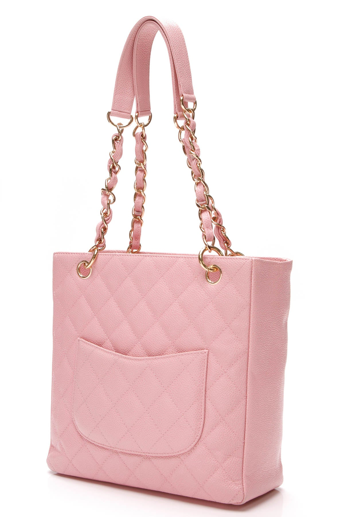 19a8ae28195c Chanel PST Petite Shopping Tote Bag - Pink Caviar – Couture USA